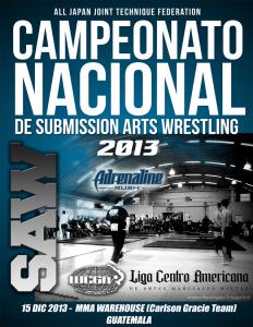 Campeonato Nacional de Sumisión 2013 – Guatemala