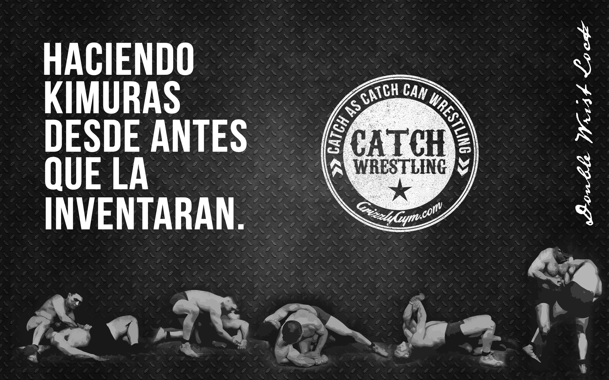 Catch Wrestling Double Wrist Lock