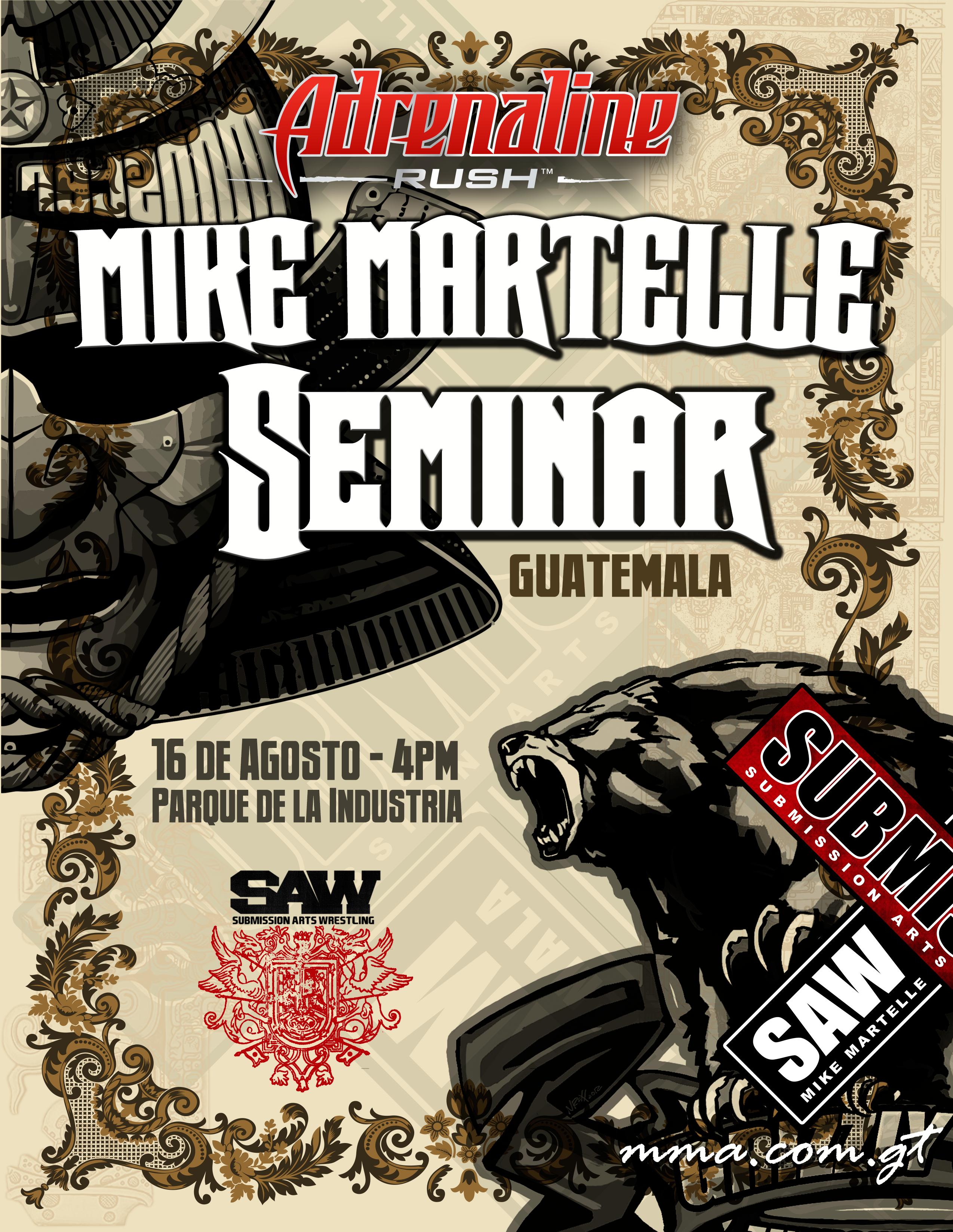 Tercer Seminario de Artes Marciales Mixtas en Guatemala